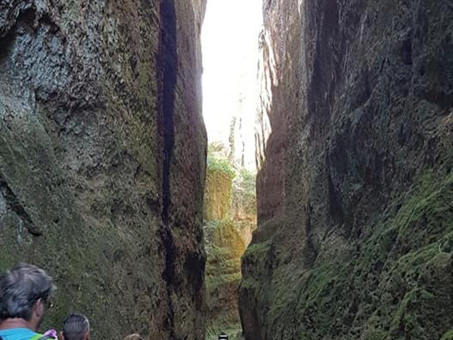 Escursione tra Pitigliano e Sovana, le vie Cave – 29 marzo 2020