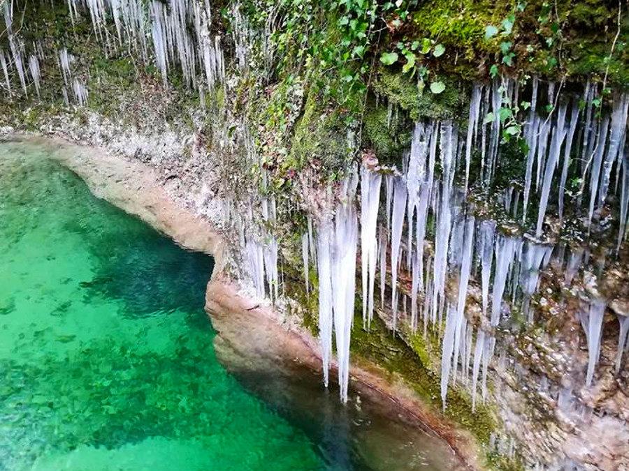 Escursione alle Pozze del Diavolo e la Cipresseta di Salisano – 26 gennaio 2020