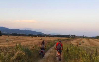 Escursione in Bicicletta, sul Tevere, al Tramonto – 22 agosto 2020