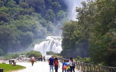 La Cascata delle Marmore, il paese fantasma di Umbriano, il Nera – 22 agosto 2020