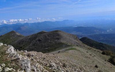 Il sentiero dell'Aquila sui Monti Lucretili – 14 febbraio 2021