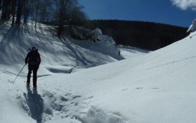AL COMPLETO – CiaspoleTrek Monte Calvo. Tra Boschi e Bianche Vallate – 6 febbraio 2021