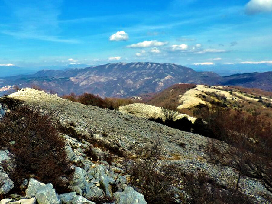 AL COMPLETO Monte Gennaro: il sentiero dei grandi Faggi – 28 febbraio 2021