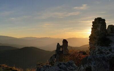 Gran sasso: Rocca Calascio al Tramonto – 21 agosto 2021