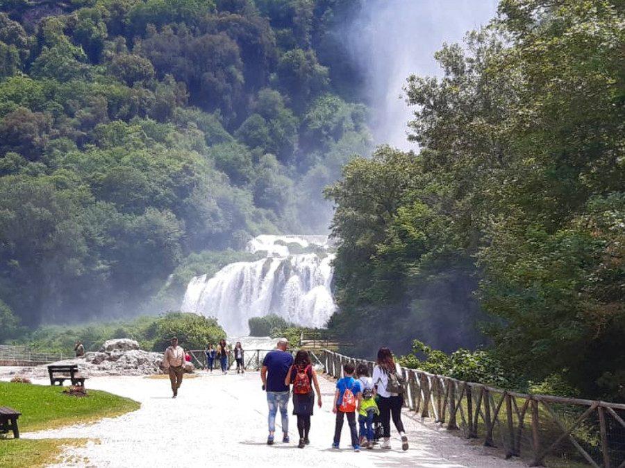 La Cascata delle Marmore, il paese fantasma di Umbriano, il Nera – 21 agosto 2021