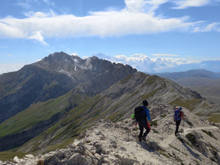 AL COMPLETO Gran Sasso: Monte Brancastello (2385 mt) – 22 agosto 2021